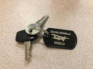 Aviation Key Chain